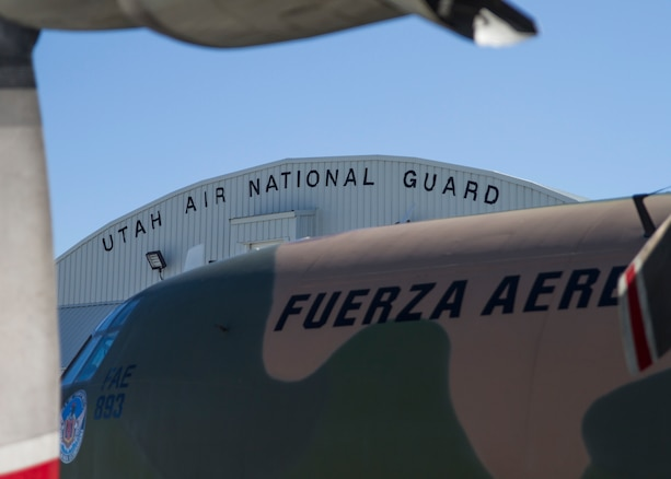 Utah National Guard helps transfer humanitarian aid to Ecuador
