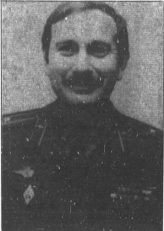 Colonel Vladimir Izmaylov served two tours of duty in the U.S. and is pictured in his Soviet Air Force uniform. (The Chicago Tribune)