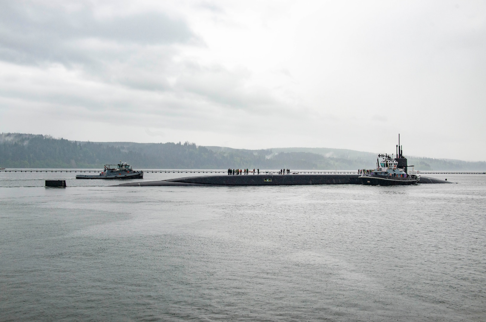 The gold crew of the Ohio-class ballistic-missile submarine USS Maine (SSBN 741) officially returned the boat to strategic service, when they recently deployed on their first patrol in more than three years. Maine's three-year break in service involved an engineered refueling overhaul, estimated to extend the life of the ship by 20 years.