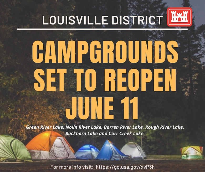 Campgrounds set to reopen June 11