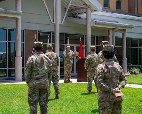 377th TSC Commanding General Returns to NAS JRB New Orleans
