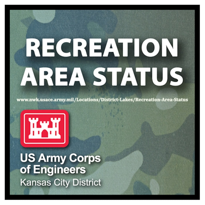 As we implement a phased reopening of campsites and recreation areas closed due to COVID-19, a complete list of recreation area status updates can be found online at: www.nwk.usace.army.mil/Locations/District-Lakes/Recreation-Area-Status.