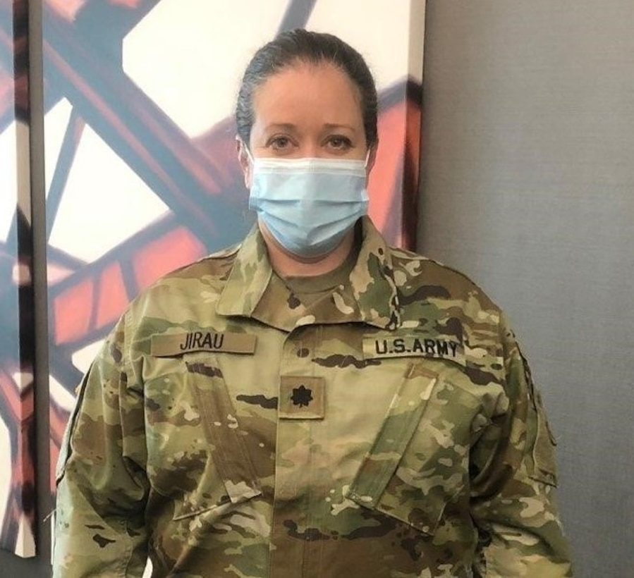 Augusta, Ga. Army Reserve physician shares COVID-19 patient care experience