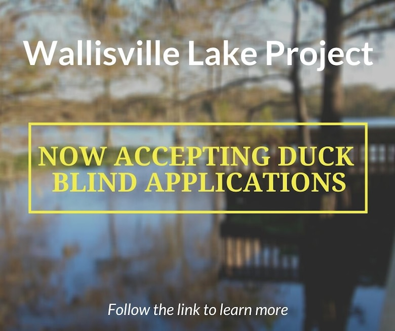 Wallisvill Lake Project now accepting duck Blind applications