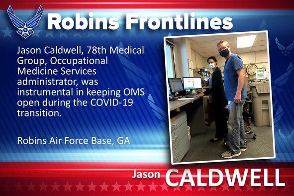 Robins Frontlines: Jason Caldwell
