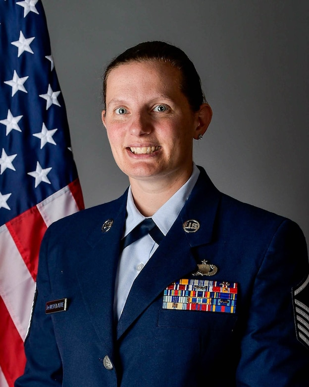 MSgt Jennifer DeWispelaere Official Photo