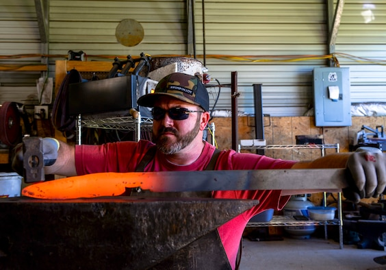 The art of the forged blade