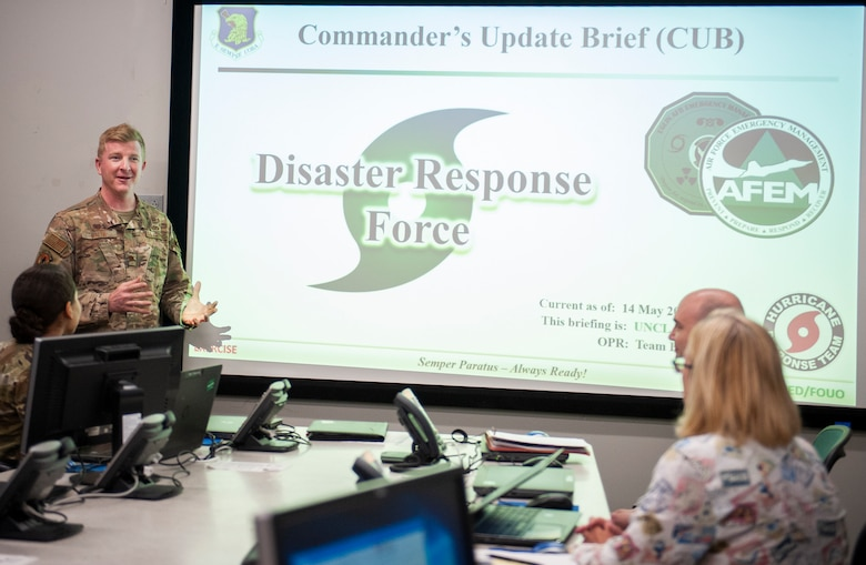 Eglin exercises hurricane ops under COVID-19 guidelines
