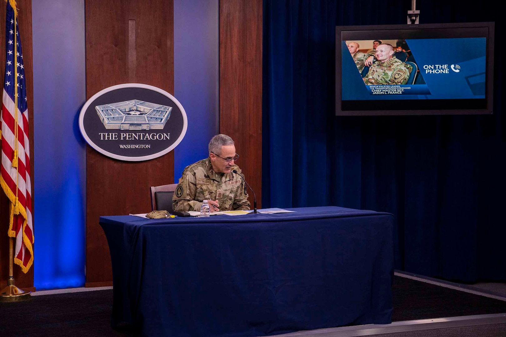 Top Enlisted Leaders Answer Questions on Stop-Move Process