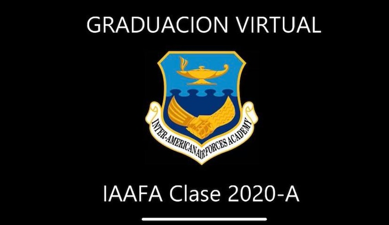 The Inter-American Air Forces Academy celebrates the graduation of its 2020 Alpha Cycle students, May 15, from countries across the Americas who studied professional military education via distance learning.(Courtesy Photo)