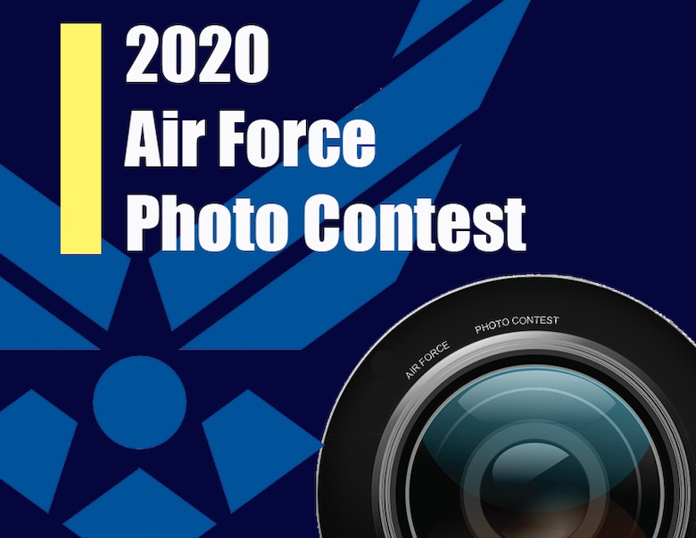 Graphic to illustrate the 2020 Air Force Photo Contest