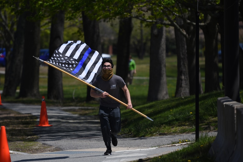 Hanscom honors fallen law enforcement officers