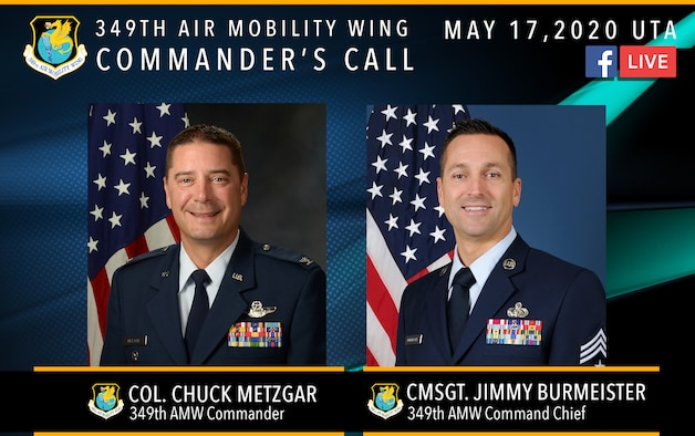349th AMW Wing Commander's Call Graphic