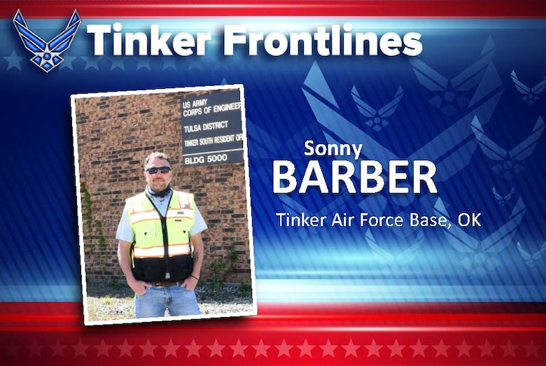 Sonny Barber is a contract QA for the U.S. Army Corps of Engineers and has worked for them around six years.