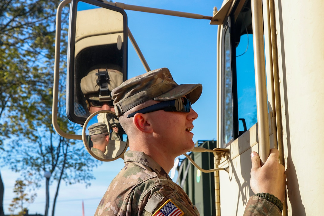 Fueling Defender Europe 20-plus: Bartonville Army Reserve Soldiers delivering fuel and supplies in Poland
