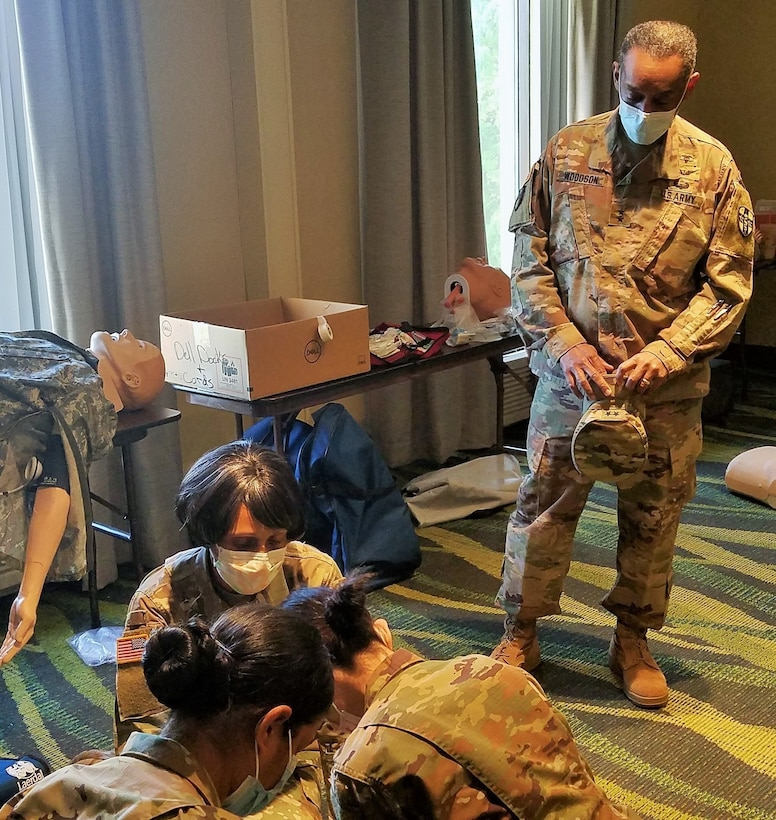 Army Reserve 7457th Medical Backfill Battalion forms UAMTF