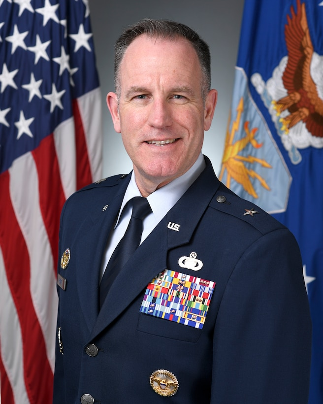 Brig. Gen. Patrick S. Ryder is the Director of Public Affairs, Office of the Secretary of the Air Force, the Pentagon, Arlington, Virginia.