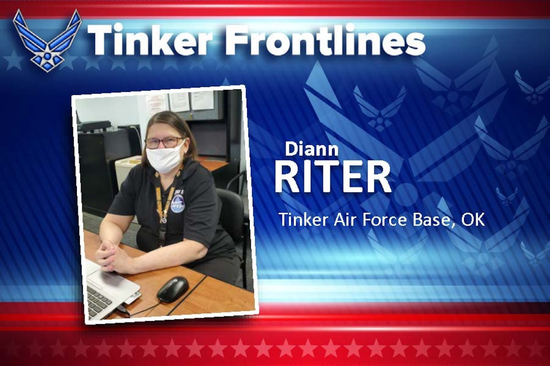 Diann Riter is the Installation Emergency Manager at the Emergency Operations Center and has served in this position for over seven years. She also served 16 years civil service and is an Air Force retiree.