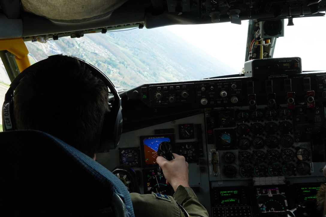 Airmen salute Western New York Covid-19 frontline workers with flyover
