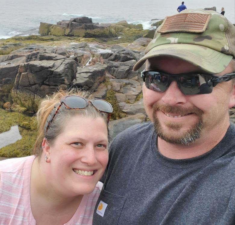 Sara Gray and her husband Shawn. (Courtesy Photo)
