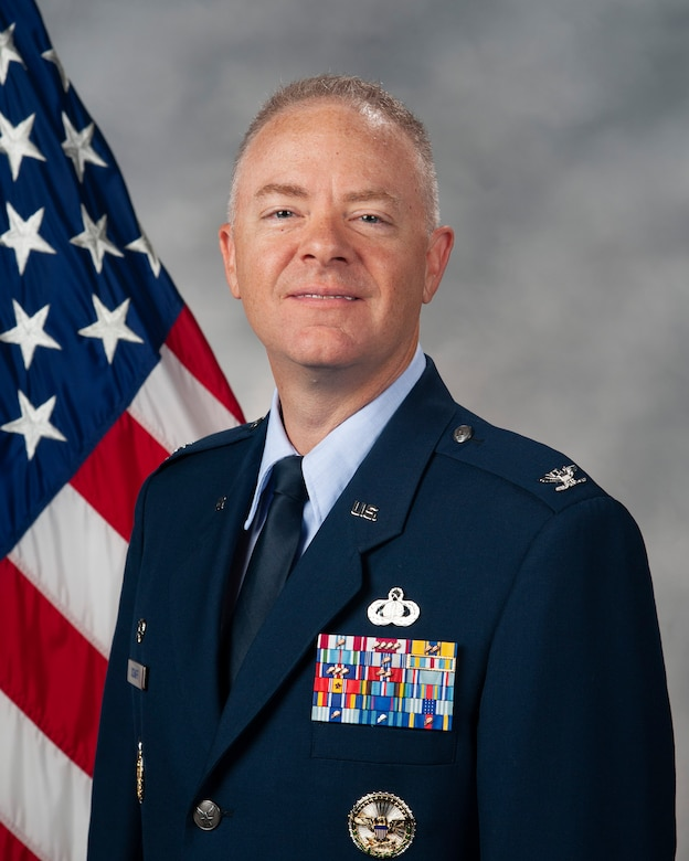 Col. Tyler Schaff, official photo