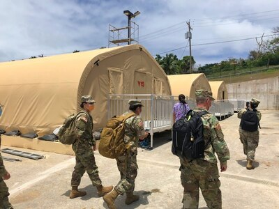 Army Reserve nurses provide assistance to CNMI