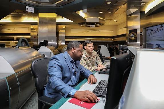 Operations at U.S. Army Cyber Command (ARCYBER) headquarters, Fort Belvoir, Va., May 15, 2019. (Photo by Joy Brathwaite)