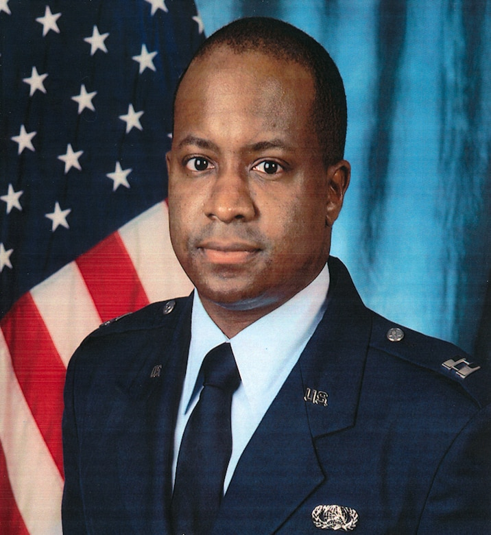 U.S. Air Force Capt. Charles Ransom, flight commander of plans and operations, 83rd Network Operations Squadron, poses for an official photo. Ransom gave his life along with nine others April 27, 2011, while on a deployment in Afghanistan.  For his actions preceding and during the incident, Ransom was awarded the Bronze Star, Purple Heart, Air Force Combat Actions Medal, Afghanistan Campaign Medal, NATO Medal and was posthumously promoted to Major. (Courtesy photo)