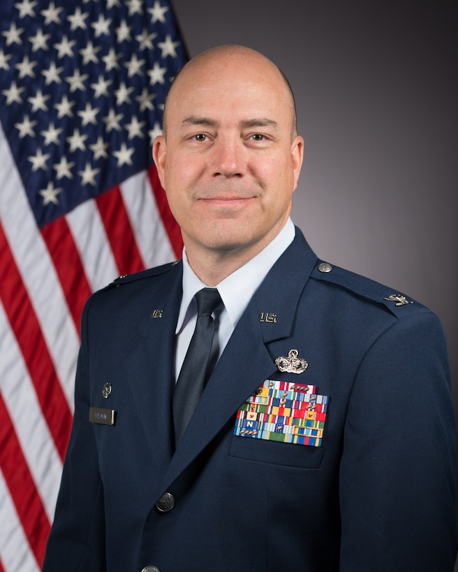 Colonel Jeffry A. Hollman serves as Commander, 412th Mission Support Group (MSG), Edwards Air Force Base, CA.