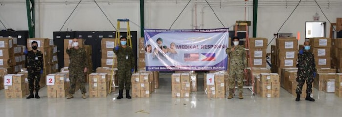 U.S. Military Provides Php10 Million in Medical Supplies to Philippine Frontliners