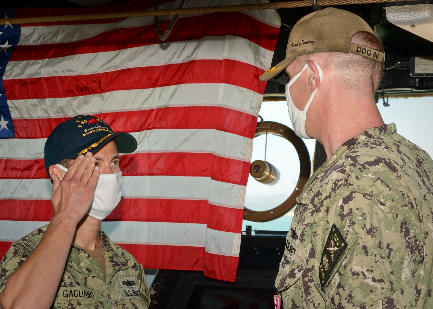 USS Roosevelt Change of Command