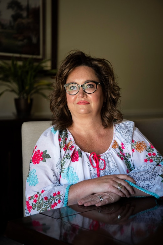 Danielle Mastalir poses for a portrait May 3, 2020, at Vandenberg Air Force Base, Calif. As a part of Mental Health Awareness Month, Mastalir shared her story of her mental health challenges and tools that helped her overcome them. (U.S. Air Force photo by Senior Airman Hanah Abercrombie)