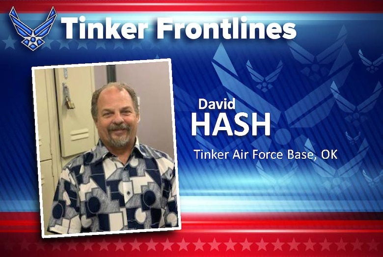 David Hash is a hazardous material specialist in the 76th Propulsion Maintenance Group.