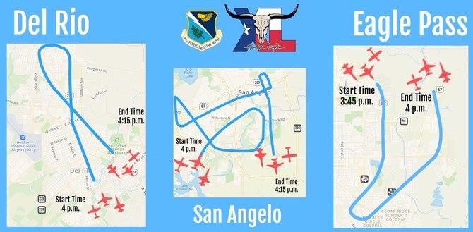 May 21 Flyover Details