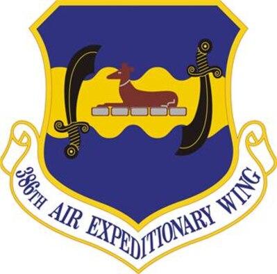 386th AEW Logo