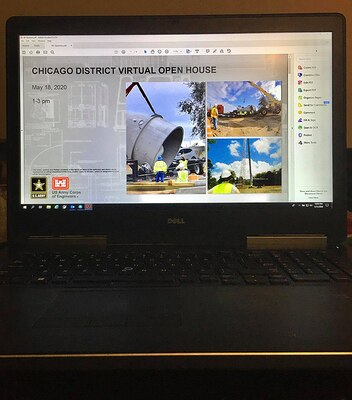 USACE Chicago District hosts virtual business opportunities open house