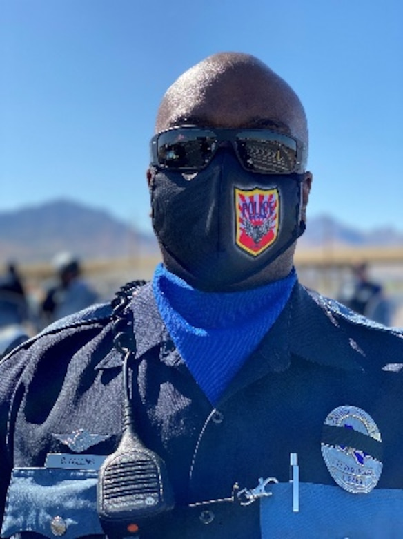 An El Paso Police Officer takes part in the 2020 Peace Officers Memorial Day event on Fort Bliss, Texas. (Courtesy photo)
