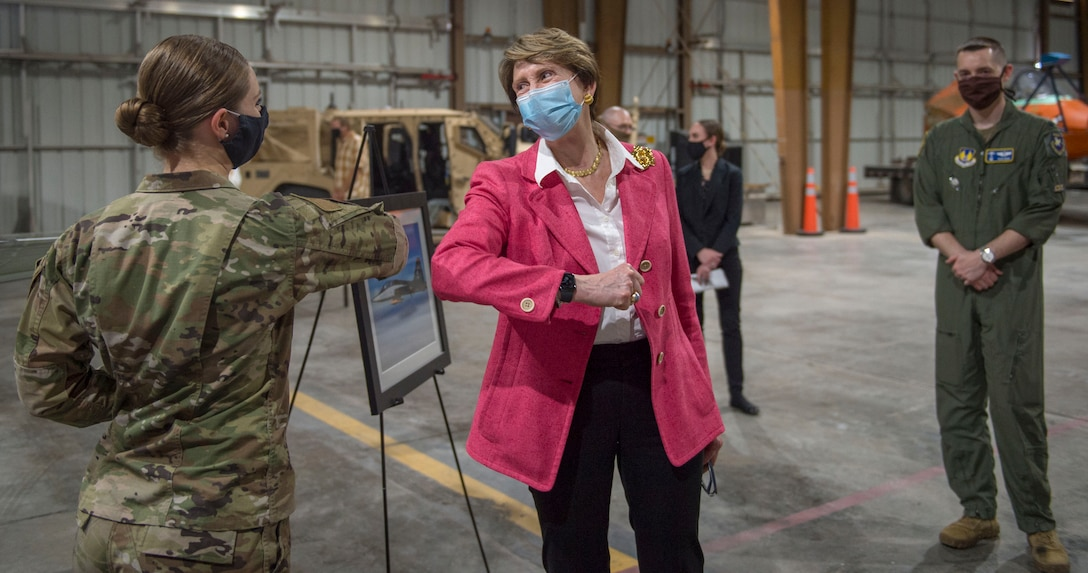 SECAF visits Holloman Air Force Base during COVID-19