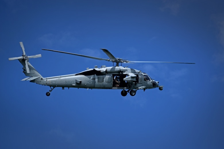 Official file photo of a U.S. Navy MH-60 Seahawk assigned to Helicopter Sea Combat Squadron 25.