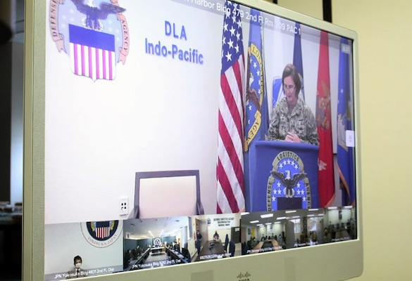 DLA Distribution Yokosuka changes leadership via virtual ceremony