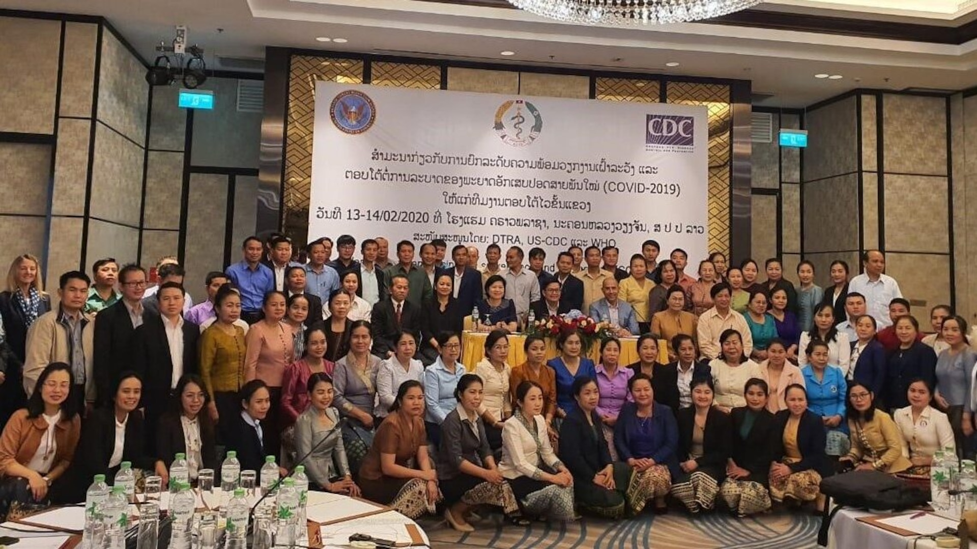 United States Announces $3 Million of CDC Support for COVID – 19 Response in Lao PDR
