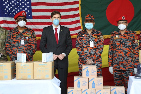 U.S. Embassy Provides Covid-19 Response Equipment to Bangladesh First Responders