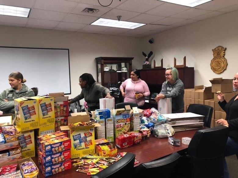 Food drive volunteer event. (Courtesy photo)