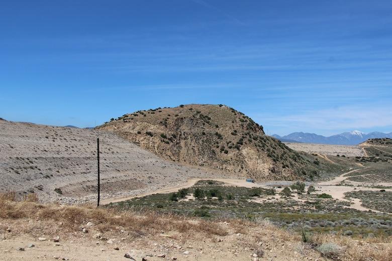 Mojave River Dam and flood control basin May 17.