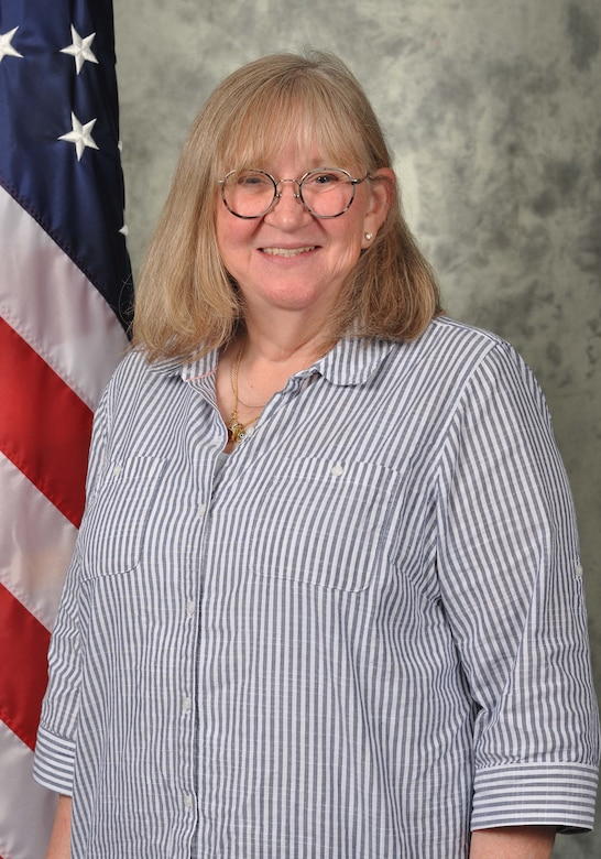 Linda Ewings, the installation deployment officer with the 72nd Logistics Readiness Squadron, has 40 years of combined active duty and civil service.