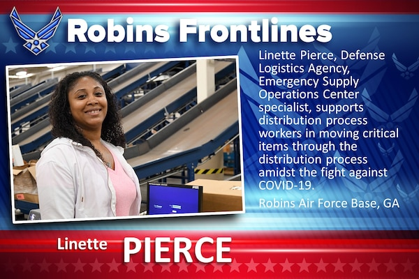 Robins Frontlines: Linette Pierce