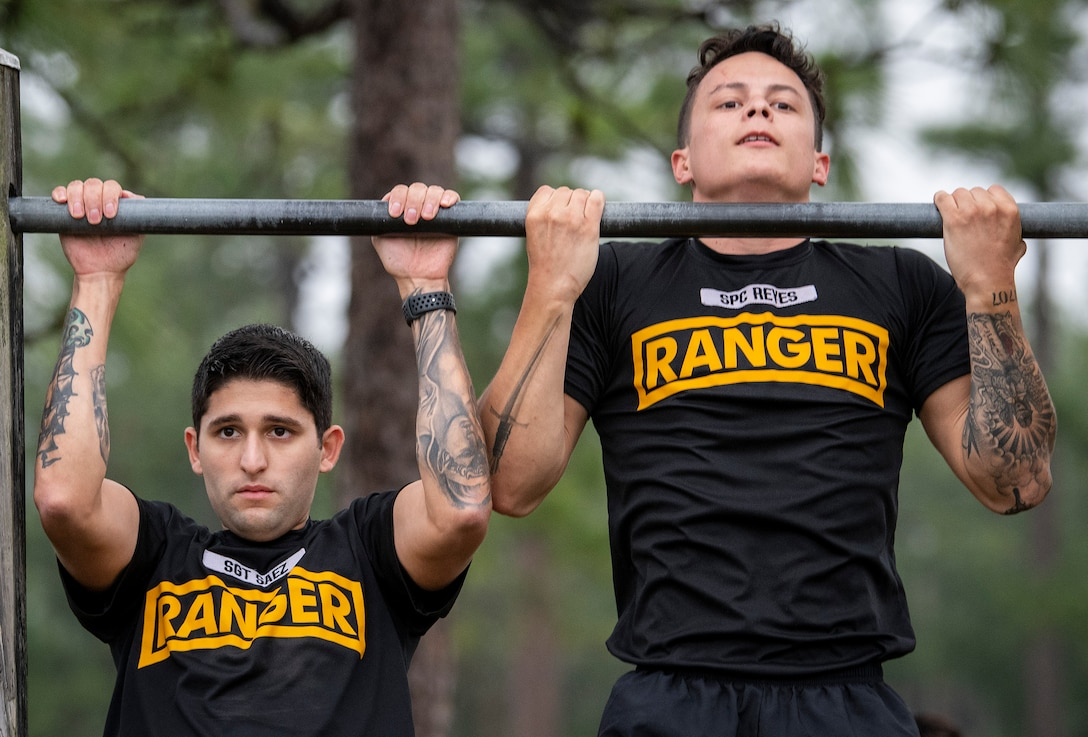 Rangers take on Murph challenge