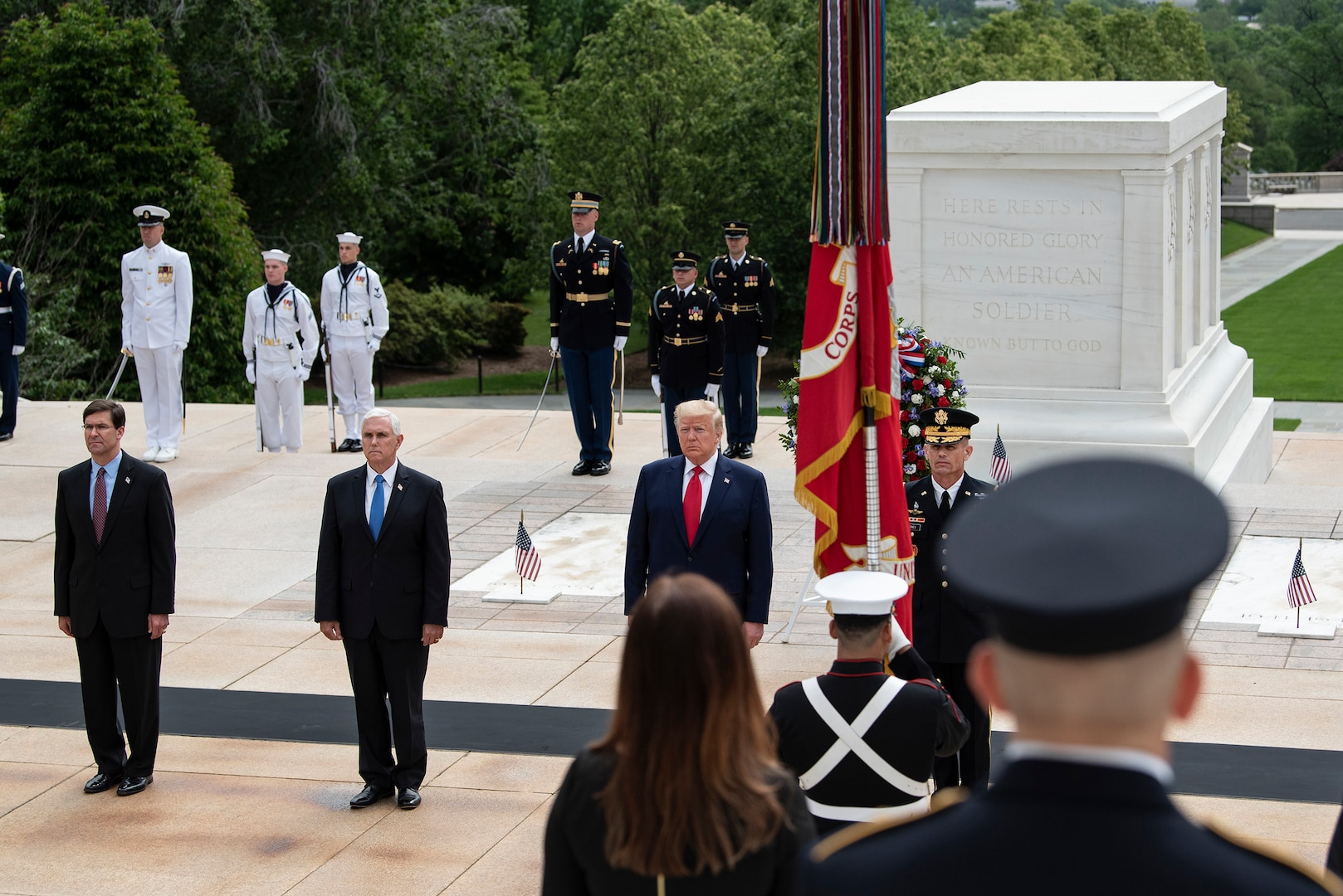 President Honors Fallen Service Members at Memorial Day Observances