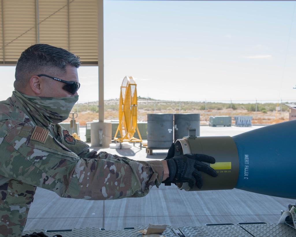 AMMO assembles inert munition