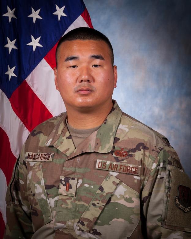 Portrait of 2nd Lt. Allen Nancarrow